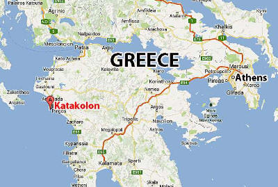 katakolon map