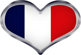 french heart flag