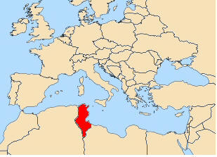 map Tunisia
