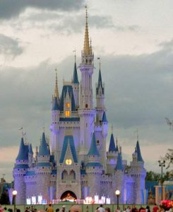 Orlando Magic Kingdom Castle