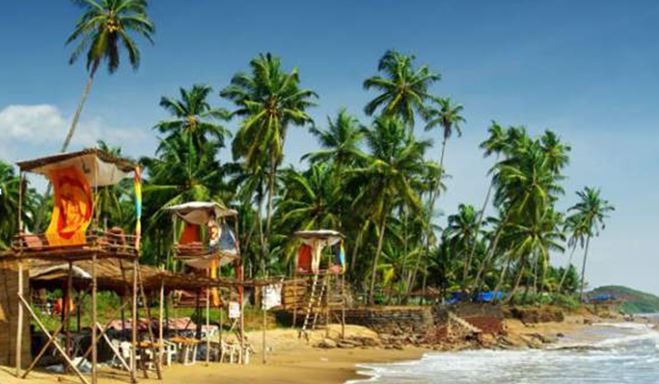 Beach at Goa