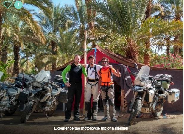 desert motorbike tour