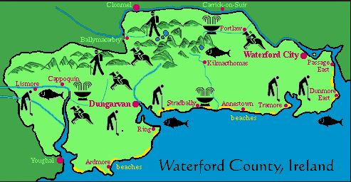 county waterford map