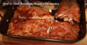 Bulgarian local dishes