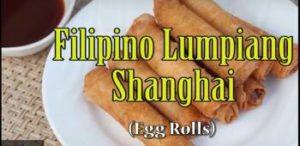 Philipino Food