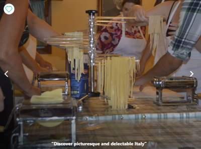 Cooking holidays Italian riviera